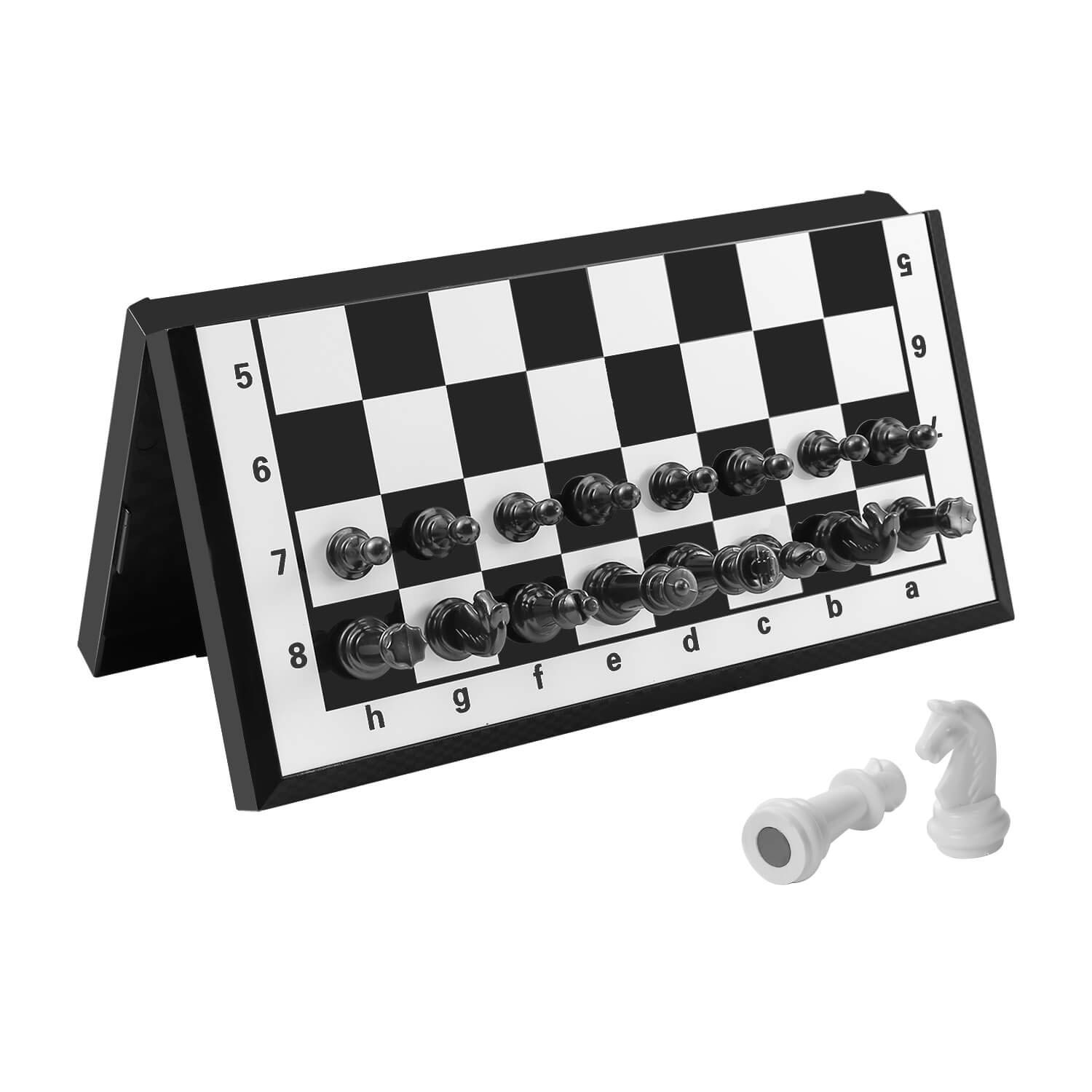 Chess Set Magnetic Travel Folding Board Games Portable Toys for Kids and Teens by FanVince