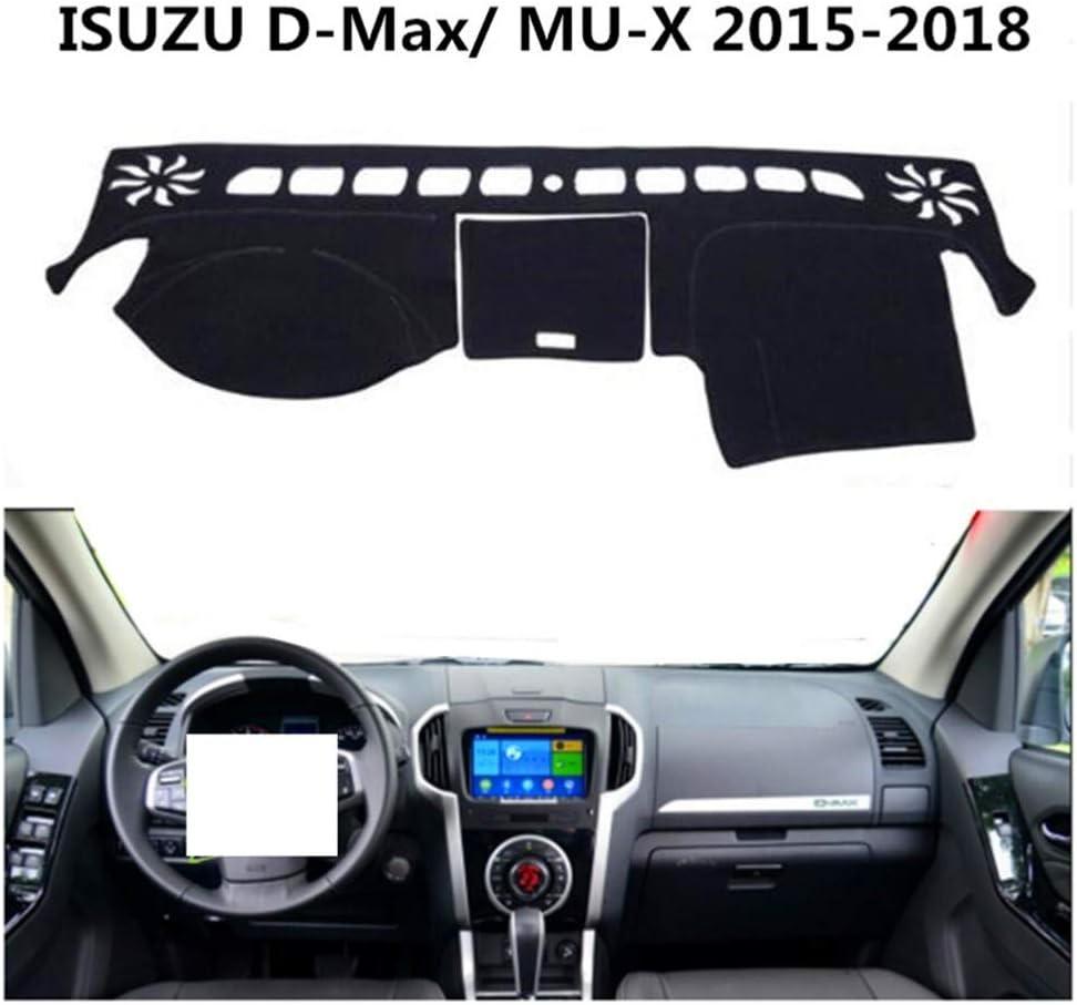 pour MU-X WBMKH Housse de Tapis de Tableau de Bord de voitureIsuzu D-Max 2015-2018 Pad de Tableau de Bord