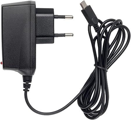 Slabo Cargador Red Micro USB - 1000mA - para Wiko Jerry 3   Lenny 5   Tommy 3   View 2 Pro   Go   Lite   MAX Cargador rápido de Viaje para el móvil - Negro