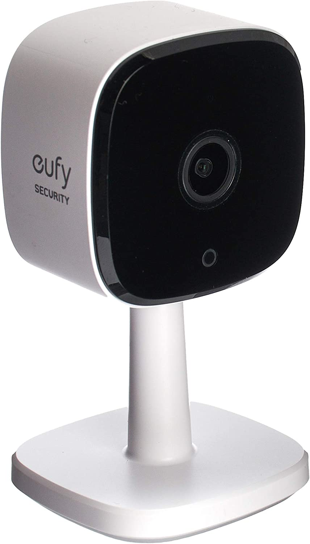 كاميرا مراقبة داخلية بوضوح 2K من يوفي، أسود وأبيض