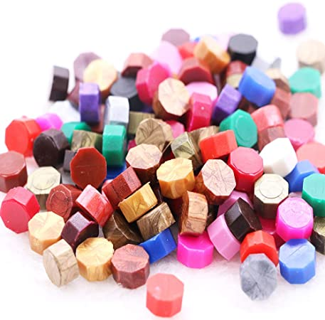 letter wax seal cire rouge TSAOYA 235 perles de cire à cacheter avec 2 pièces de bougies à thé et 1 cuillère à fondre pour la fabrication de cire adhésive