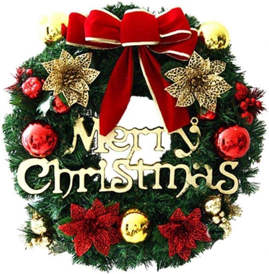Case/&Cover De La Fiesta De La Guirnalda De La Feliz Navidad Poinsettia Guirnalda Imagen De Pared Garland Decoraci/ón De Navidad La Decoraci/ón del Hogar Accesorios 1pc