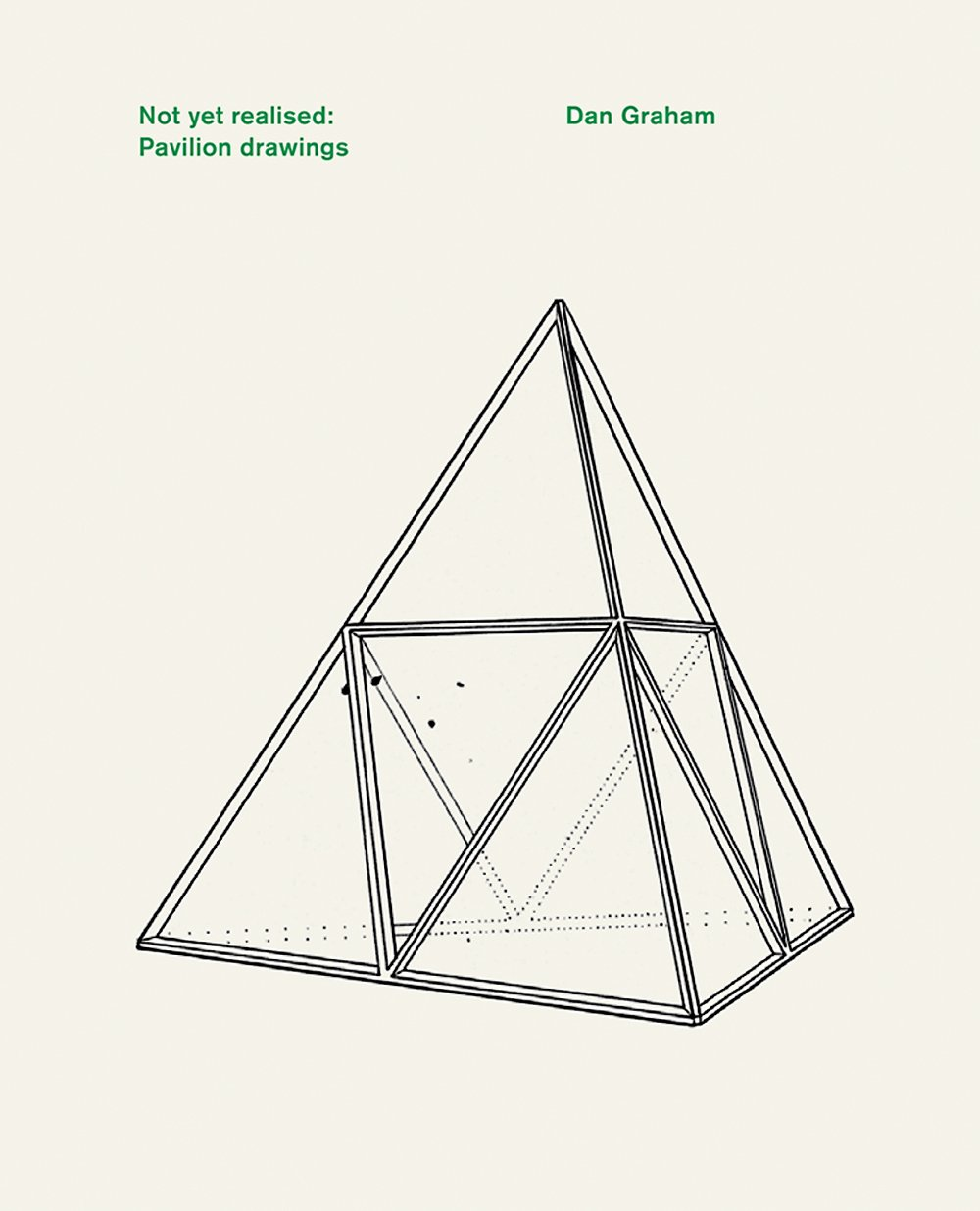 Dan Graham: Not Yet Realised, Pavilion Drawings