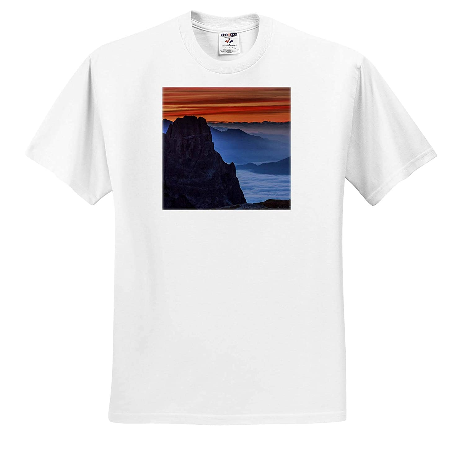 South Tyrolean Dolomites ts/_313692 Mountains 3dRose Danita Delimont Adult T-Shirt XL Italy