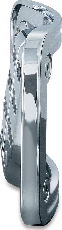 Kuryakyn 9198 Curved Tip-Back License Plate Frame