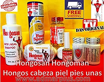 Hongosan Hongos En Uñas , Hongos En Pies Y Hongo En Cabeza Hongosan Kit Completo Hongosan