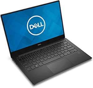 Dell XPS 13 9360 13.3-Inch 512GB SSD (16GB RAM, 2.4GHz 7th Generation i7-7560U (Up To 3.8GHz), QHD+ InfinityEdge TouchScreen, Windows 10 Home) Silver - XPS93607697SLV