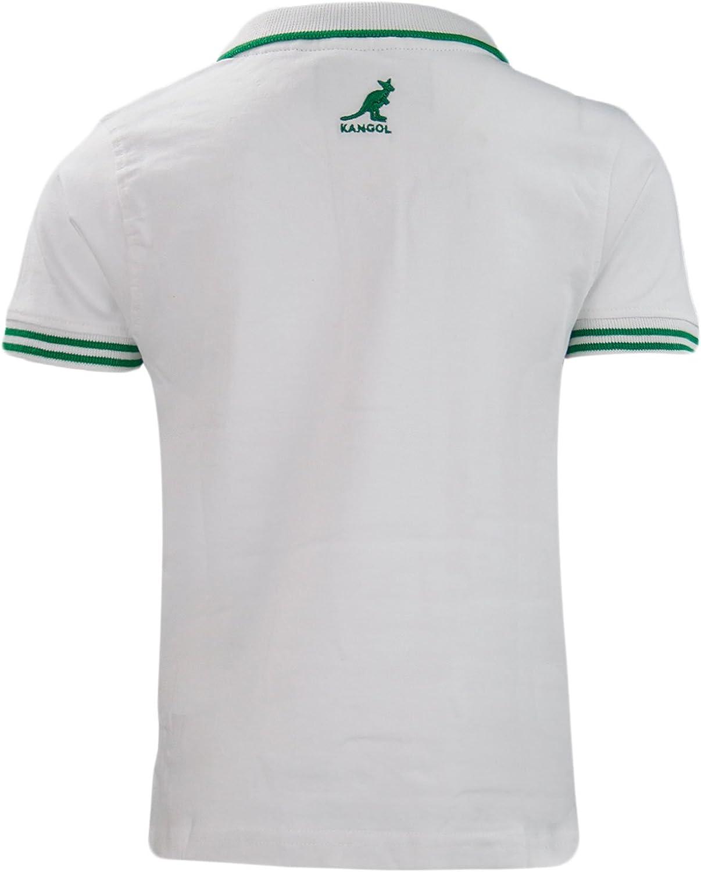 Kangol Nuevos Muchachos Camiseta del Polo de Marca Originales de ...