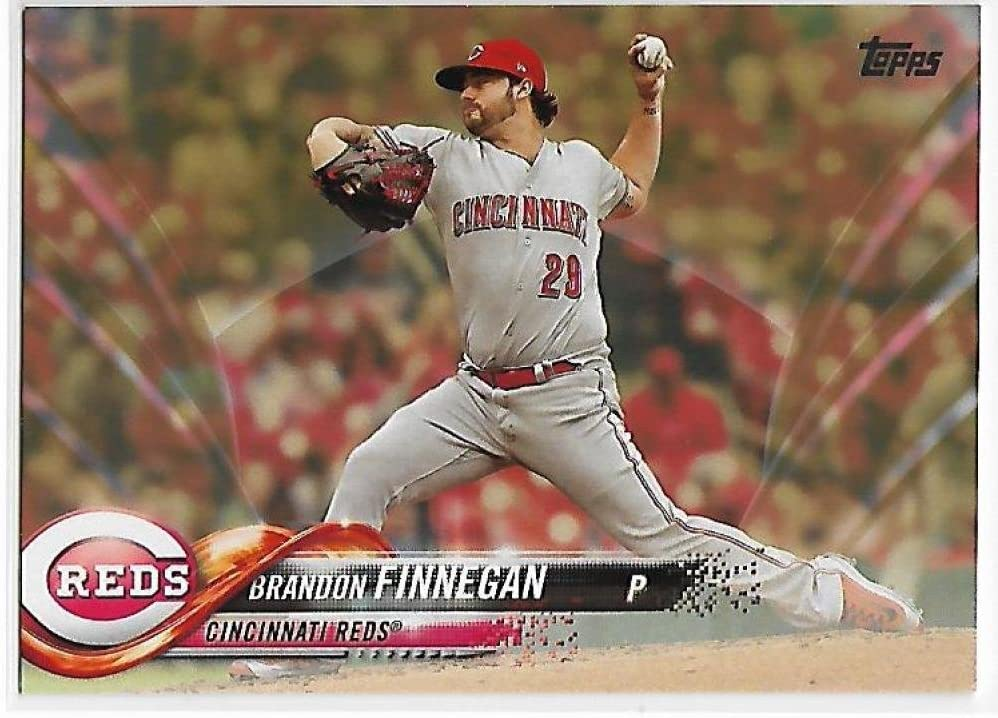 Amazon.com: 2018 Topps Gold #301 Brandon Finnegan NM-MT 1336/2018 ...