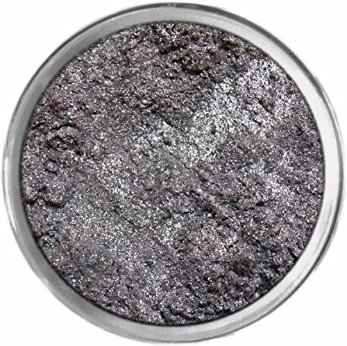 Sultry Silver Loose Powder Mineral Shimmer Multi Use Eyes Face Color Makeup Bare Earth Pigment Minerals Make Up Cosmetics By MAD Minerals Cruelty Free - 10 Gram Sized Sifter Jar