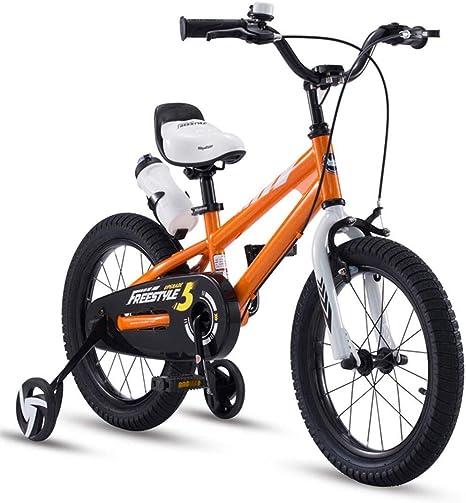 FEE-ZC Bicicleta de Seguridad para niños con Ruedas de ...