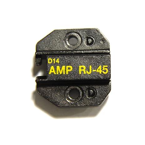 1PK-3003D14 Molde de Alicate para AMP 8P/RJ45 Red Modular Plugs