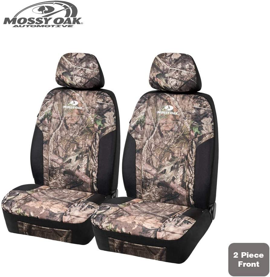 Airbag Compatible Universial Fit Fit Most Bucket Seats Official Licensed Product MOSSY Oak Low Back Camo Seat Covers Made with Premium Rip-Stop Oxford Fabric