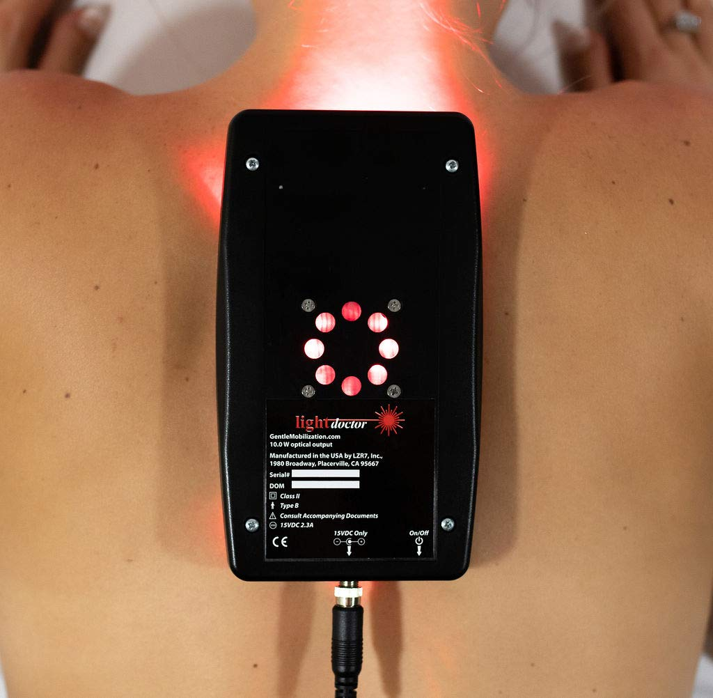 Near Infrared Red and LED Light Therapy Relief for Neck Pain, Back Pain and Arthritis