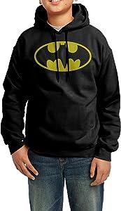 LULU Glow Ink Classic Logo Men's Custom Long Sleeve Sweater Black