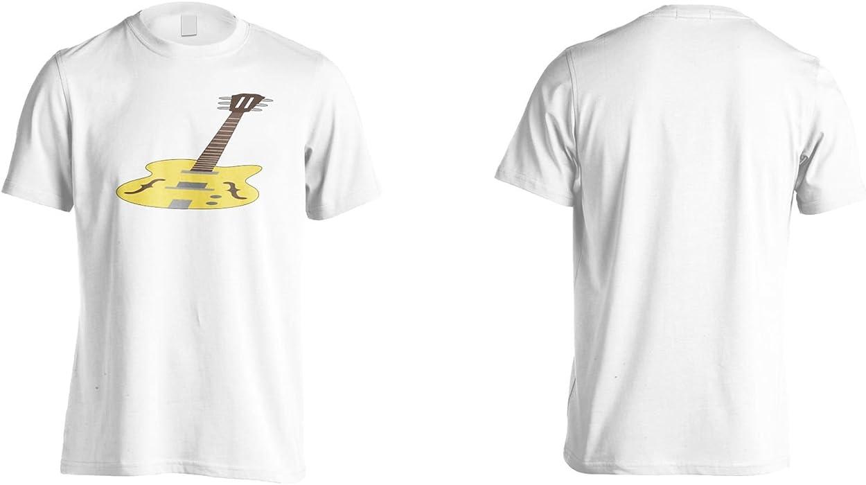 INNOGLEN Banda De Música De Guitarra Eléctrica Camiseta de los Hombres q955m