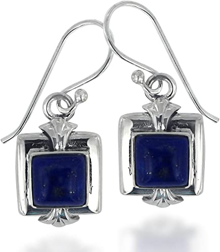 Lapis Lazuli Gemstone Dangle Earring