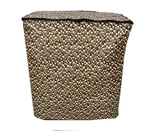 Kuber Industries impermeabile e antipolvere lavatrice copertura per semiautomatico 6.5kg Model (pois) KuberIndustries