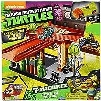 Teenage Mutant Ninja Turtles T-Machines Sewer Gas Station Playset