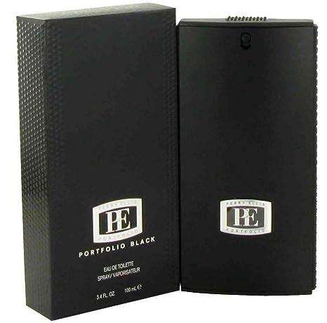 Perry Ellis Portfolio Black Eau De Toilette Spray for Men, 3.4 Ounce