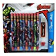 Papermate Marvel Avengers Mechanical Pencils-10 Pack, Leads, Erasers