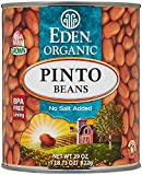 Eden Foods Organic Bean Can, Pinto, 29 oz
