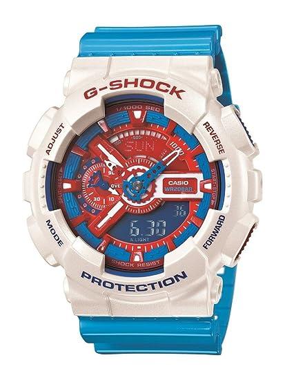 7ba4751ab6a G-Shock Ga-110 Watch - Men s (White Multi)  Casio  Amazon.in  Watches