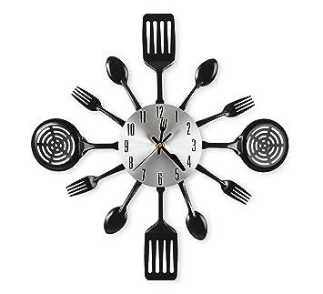 Amazon.com: CIGERA - Reloj de pared de cocina grande de 16 ...