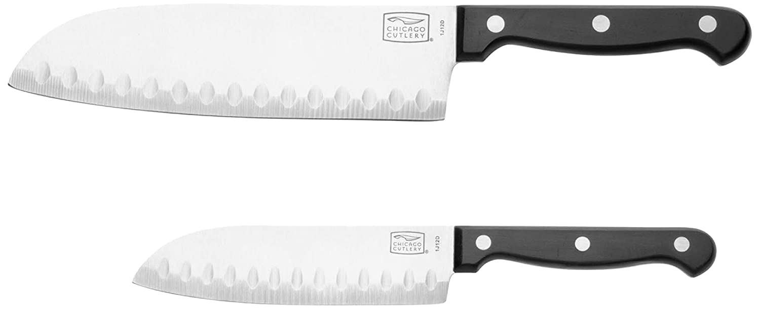 Chicago Cutlery Essentials 2-Pc Partoku/Santoku Set World Kitchen 1094281