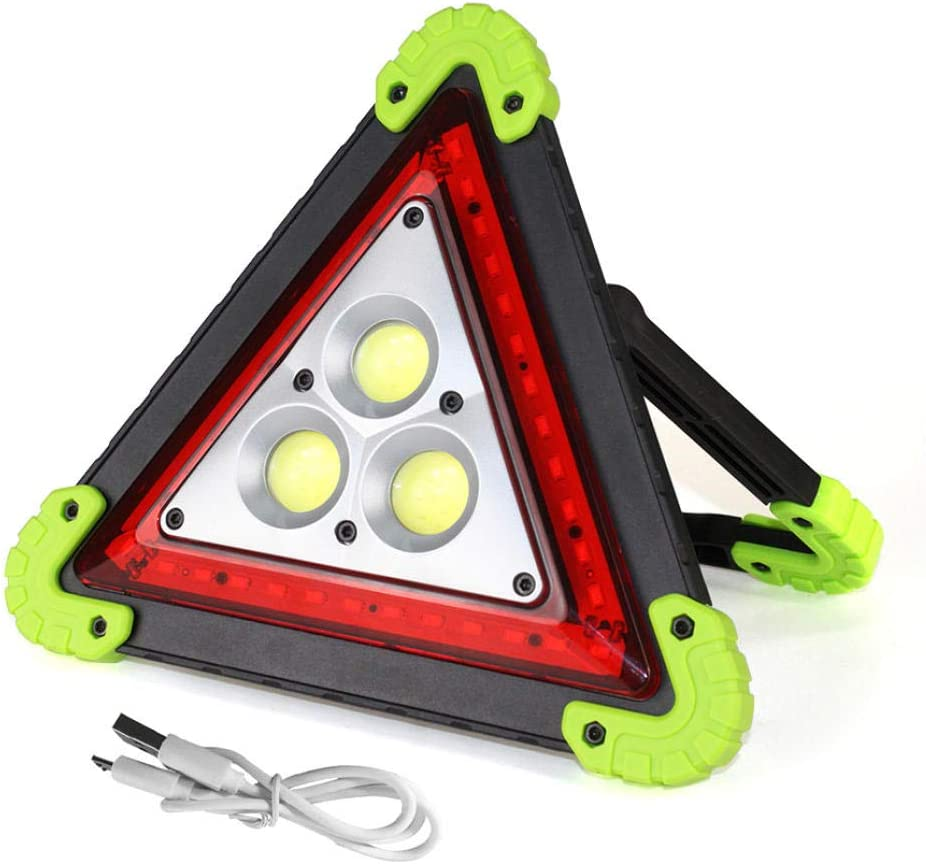 Linterna LED recargable de 30 W para acampar Senderismo Iluminación de emergencia Linterna portátil Luz LED Exterior 4 modos Tienda Luz de camping LL 303 Sin batería