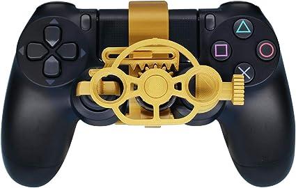 PS4 - Volante de Carreras para Juegos (Mejorado), Volante con impresión 3D para el Mando Playstation 4: Amazon.es: Electrónica