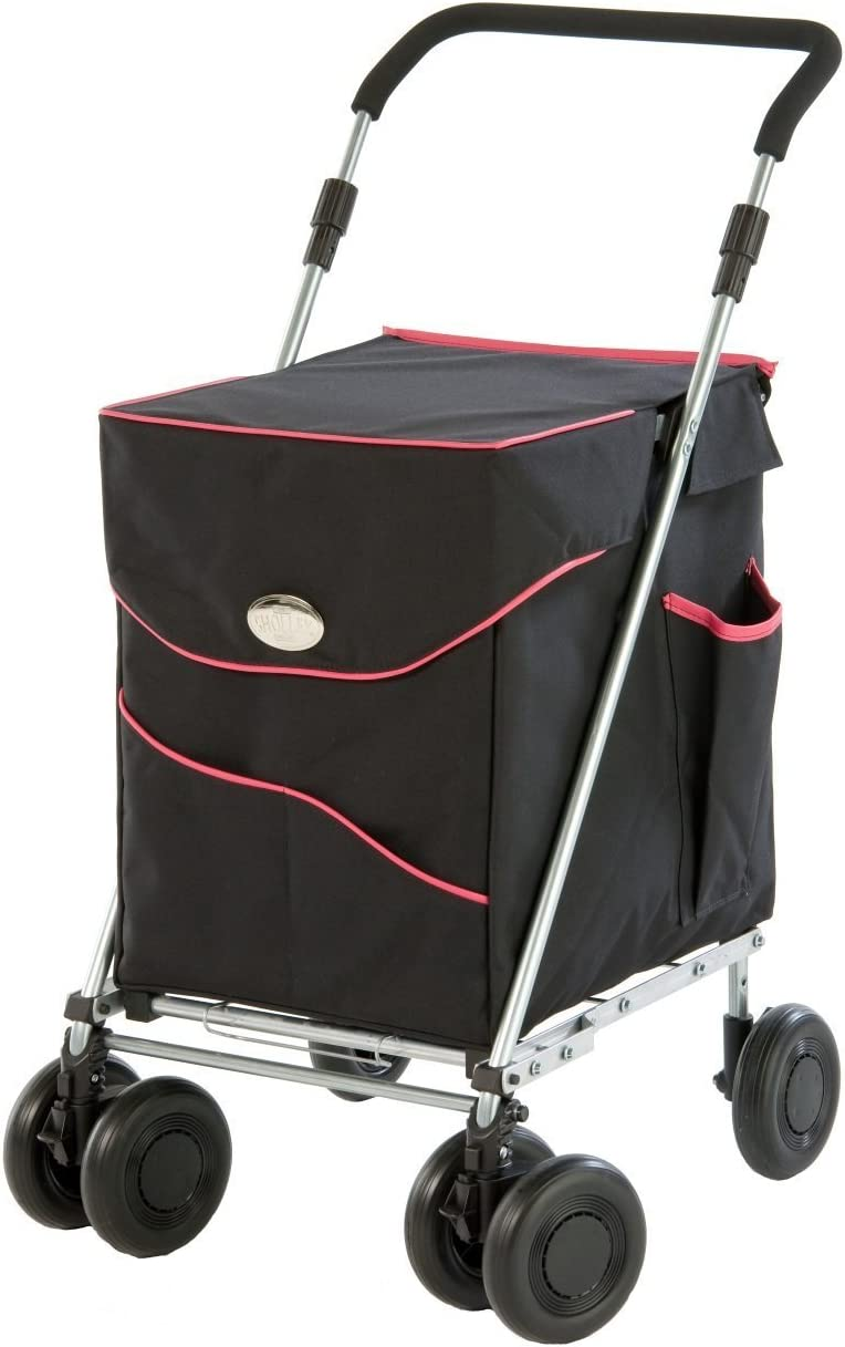 Sholley Deluxe with Black and Fuscia Pink Bag - The perfect shopping cart [並行輸入品]