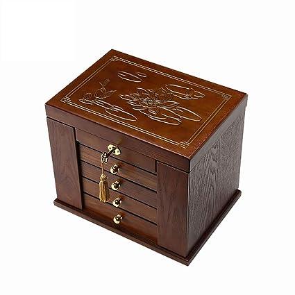 Organizadores y cajas para joyas Anillo de joyero Anillo de joyero Exhibidor de almacenamiento Caja de