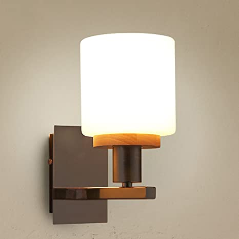 JSJ - dormitorio de madera maciza lámpara de pie cálida ...