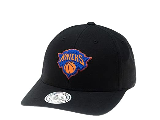 Mitchell & Ness Gorras New York Knicks Biowashed Zig Zag Black Adjustable