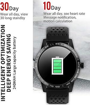 Reloj Inteligente con Monitor de frecuencia cardíaca y sueño ...
