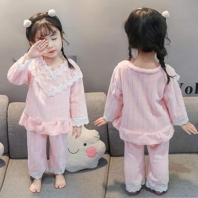 Pijamas Unisex para niños Pijamas de algodón Suave de Manga Larga ...