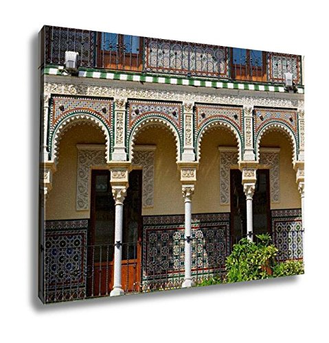 Ashley Canvas, Historic Buildings And Monuments Of Seville Spain Architectural Details Stone, Home Decoration Office, Ready to Hang, 20x25, AG6534616 by Ashley Canvas