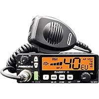 Radio CB Président Barry II ASC Am/FM, Roger Beep, NB, ANL, Puerto USB, 12V / 24V