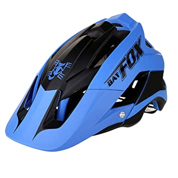 Ksruee Molie Bicycle Helmet Mountain Bike Casco de Montar de una Pieza Helmet-F-