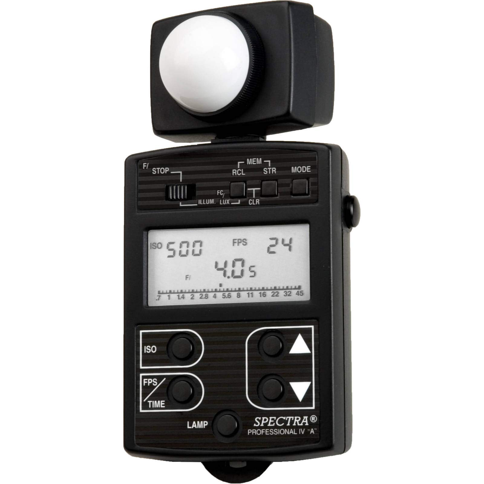 Spectra Cine Professional IV-A Digital Exposure Meter (Black) by Spectra Cine