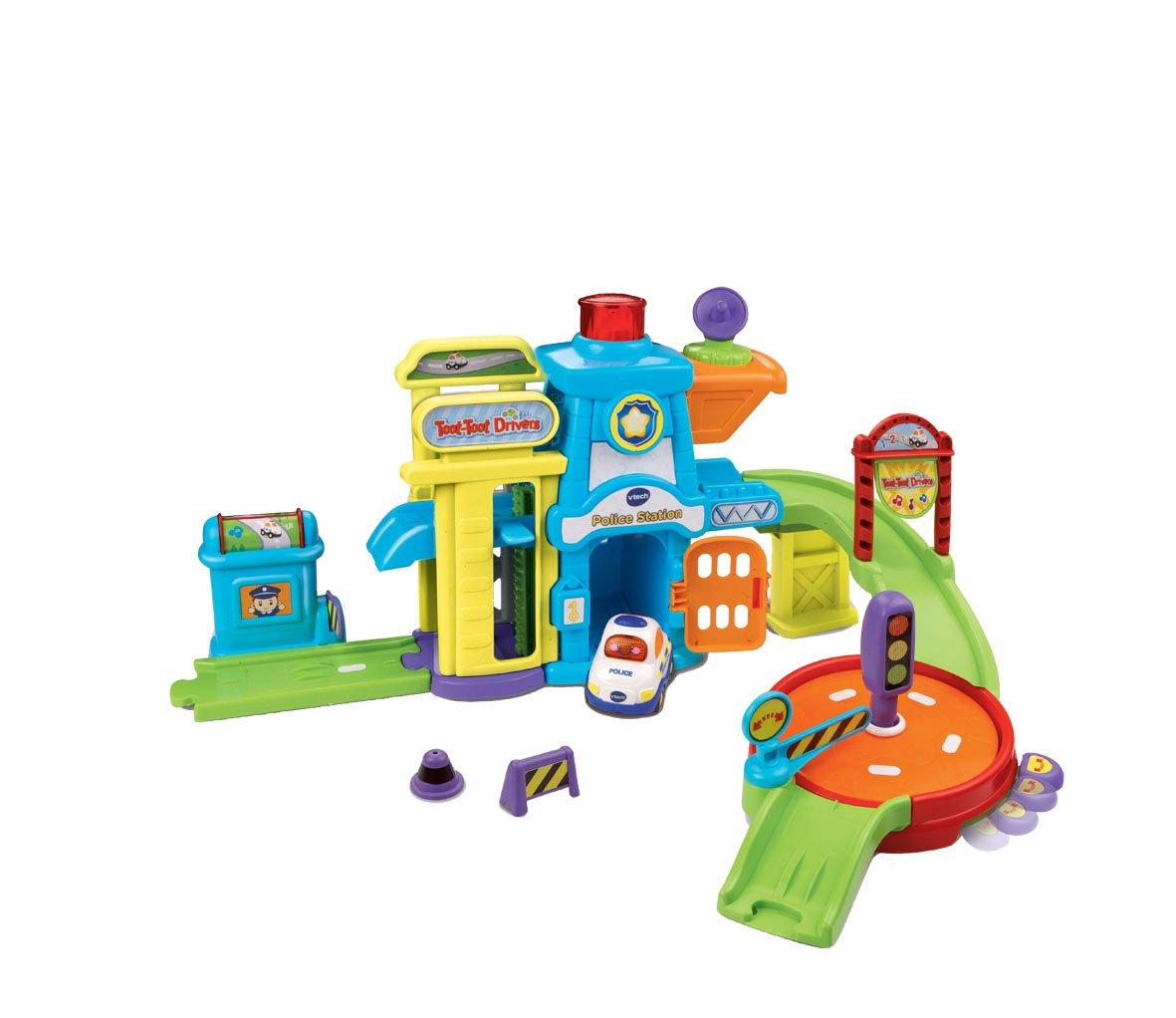 vtech baby toot toot drivers police station multi coloured