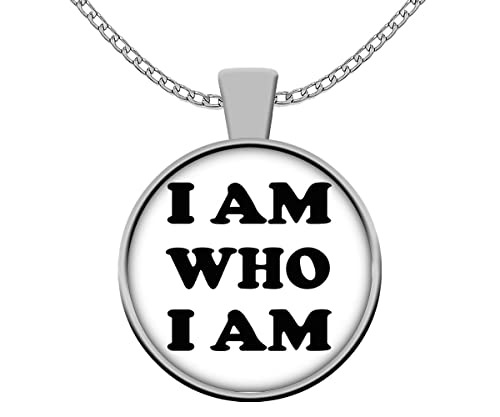 Amazon.com: Yoga Necklace - I Am Who I Am – Spiritual ...