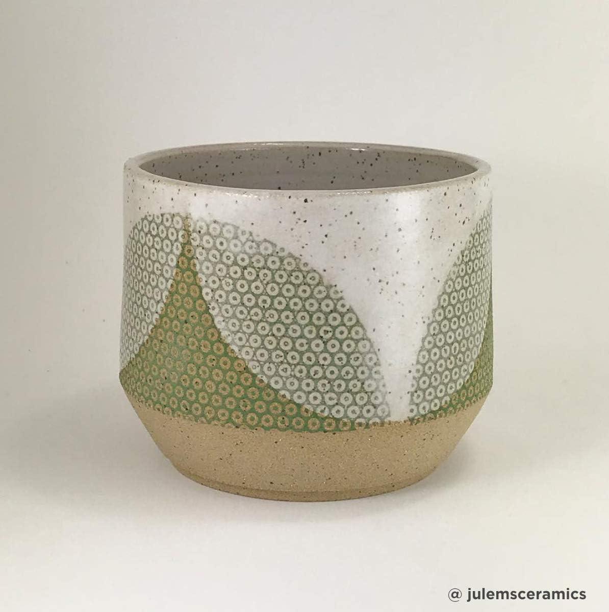 Blue Pattern Circle Sanbao Studio Ceramic Decals