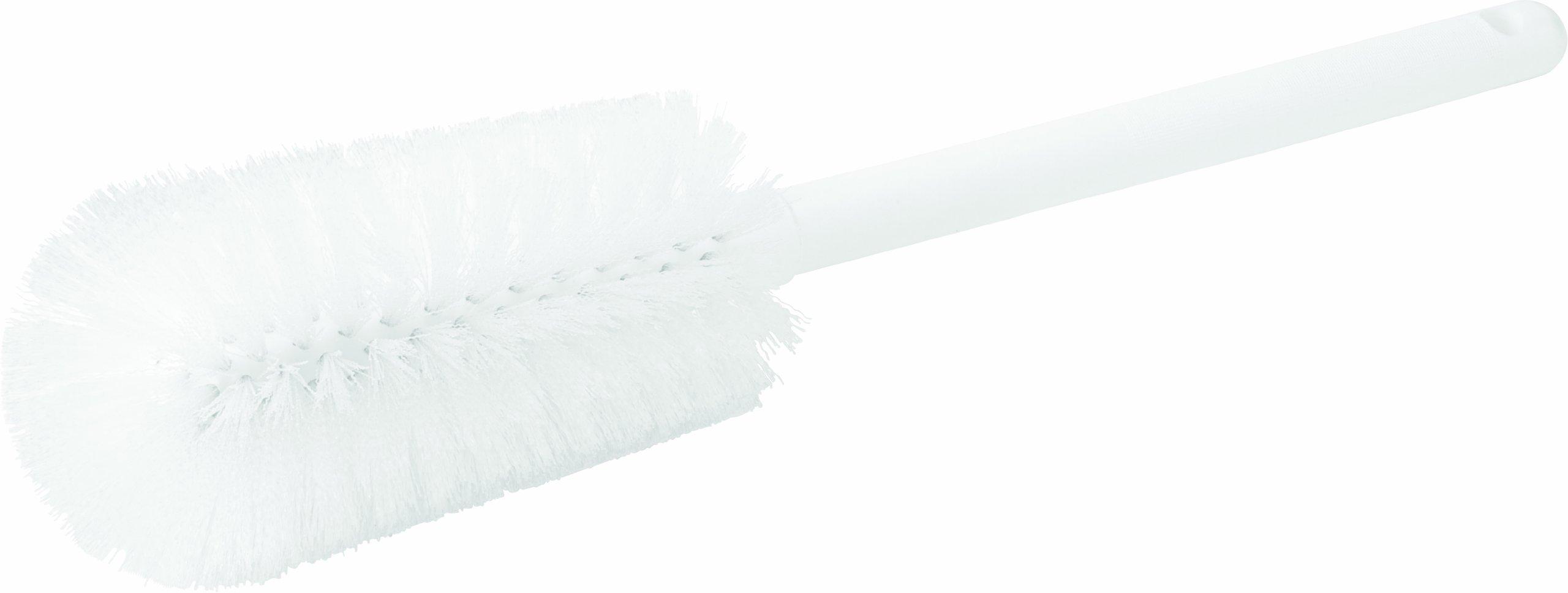 Carlisle 4000102 Sparta Commercial Quality Bottle Brush, 16'' Long, White (Pack of 12)
