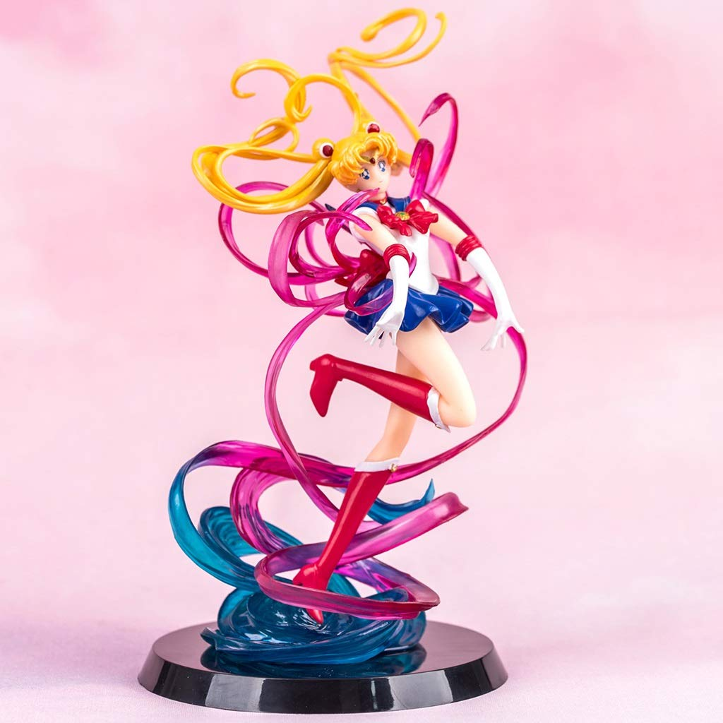 Yuanyuanliu Sailor Moon Umbrella Anime Spielzeug Modell Anime Cartoon Game Charakter Modell Statue Souvenir Sammlung Handwerk