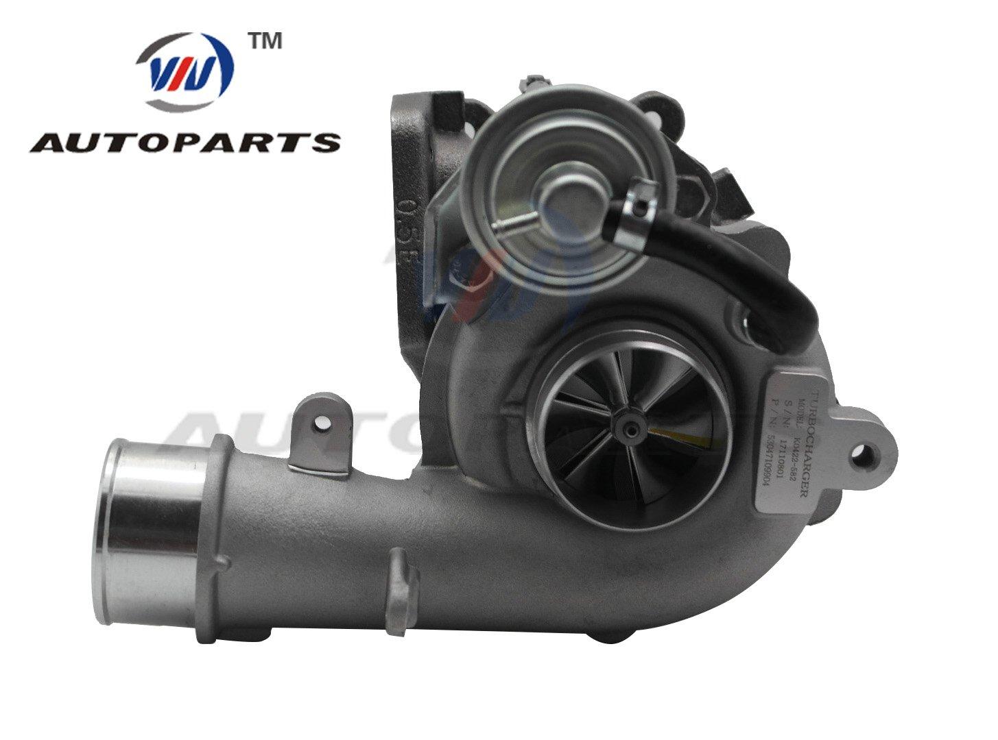 Billet 6+6 Turbocharger K0422-582 L33L13700B 53047109904 for Mazda CX7 CX-7 2.3L Gasoline Engine