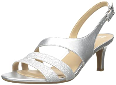 Naturalizer Women's Taimi Dress Sandal, Silver, ...
