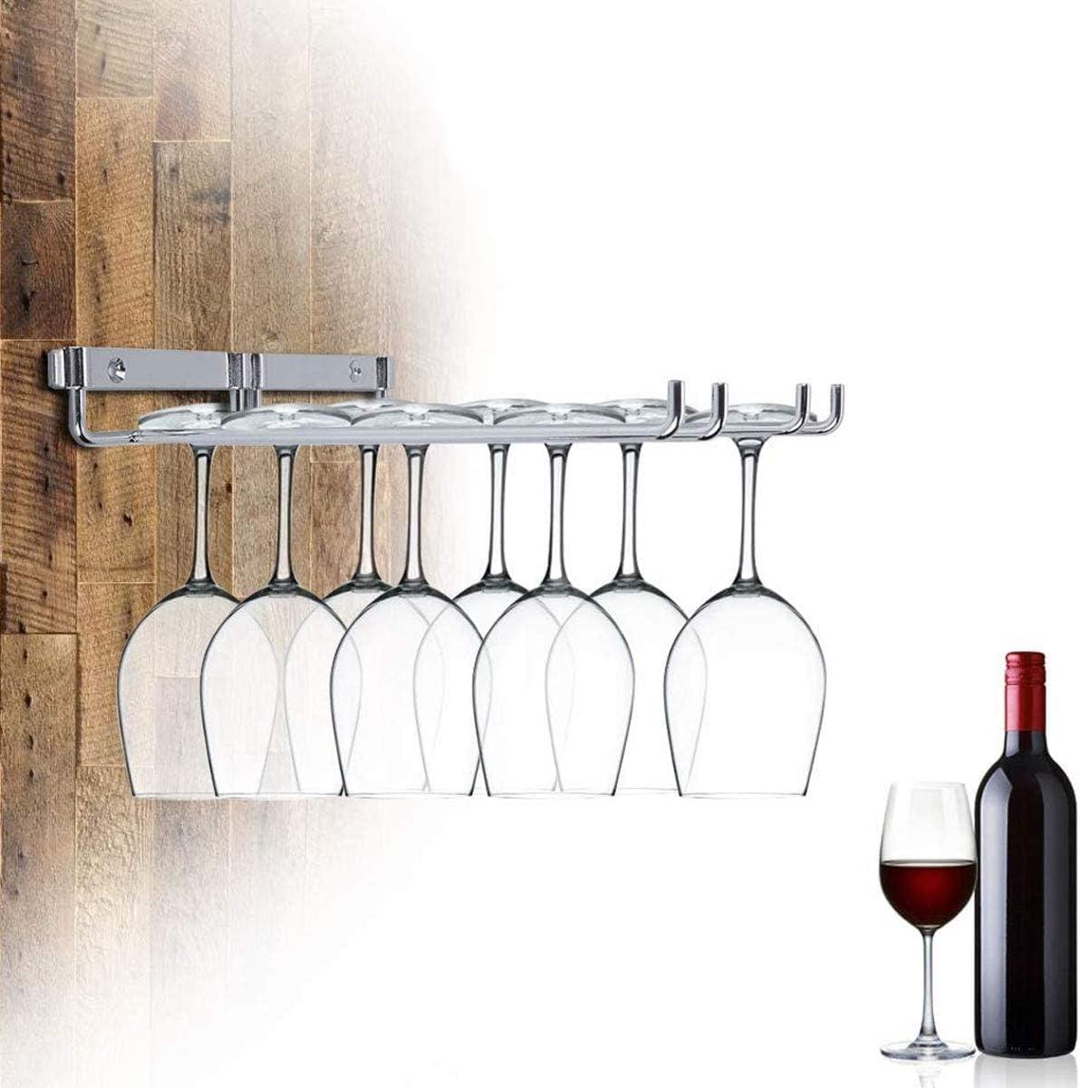 Zuzer Soporte Copas Soportes para Copas Estante para Copas Estante de Vidrio de Vino para Cocina//Bar//Restaurante