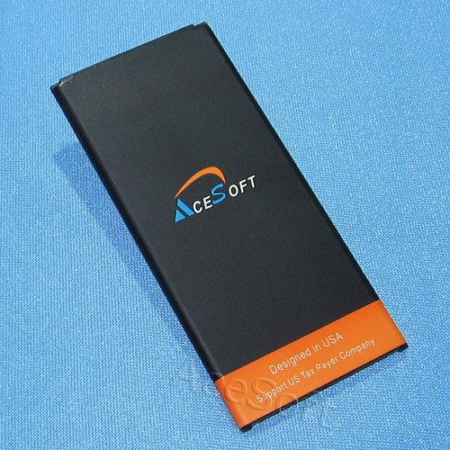 New High Capacity 3900mAh Extended Slim Battery for AT&T/Net10 Samsung Galaxy Mega 2 SM-G750A Smartphone by AceSoft